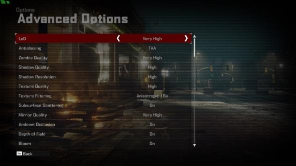 Dead Rising 4 GTX 1060 settings