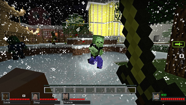 Deathcraft II transforms Left 4 Dead into Minecraft