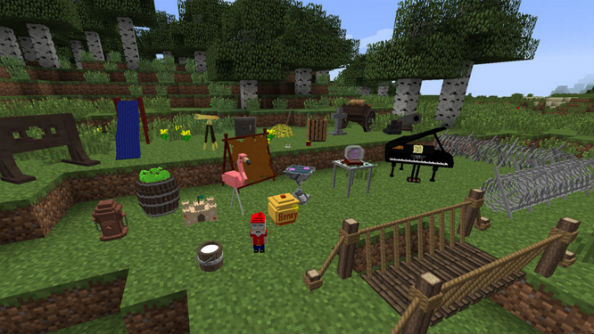 Minecraft 2 mod decocraft
