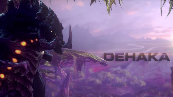 StarCraft 2 introduces Dehaka, a new primal pack leader, at this year's Gamescom