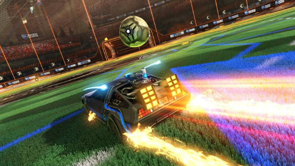 Back to the Future's DeLorean is coming to Rocket League on October 21