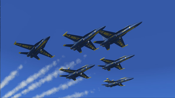 FSX Blue Angels release their 2013 tour dates