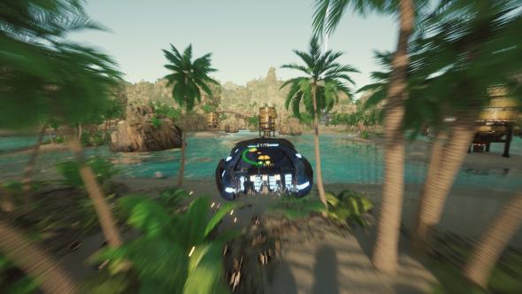 Despoiler hovercraft