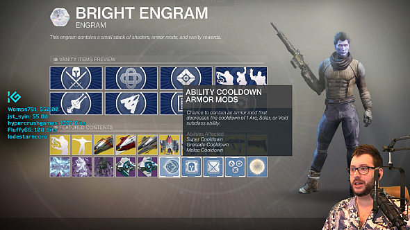 The possible contents of a Bright Engram