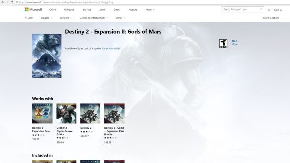 Destiny 2 Gods of Mars