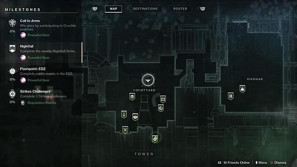 Powerful Gear activities in Destiny 2