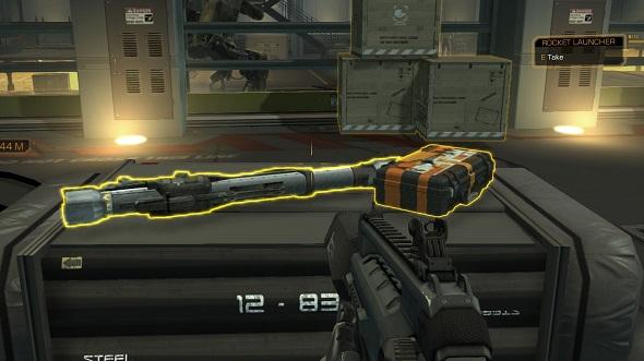 Deus Ex: Human Revolution rocket launcher