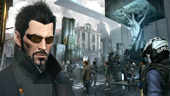 Deus Ex: Mankind Divided release date pushed back, Jensen makes the interweb cry
