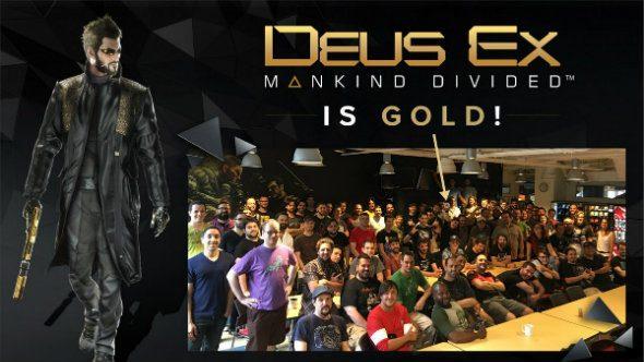Deus Ex gold