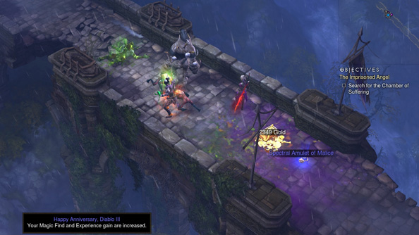 Diablo III's birthday buff proved so popular that Blizzard are keeping it