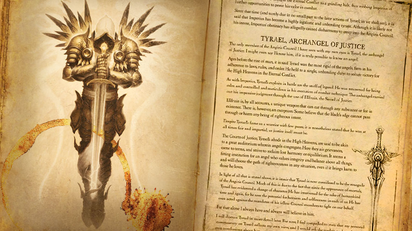 Diablo 3 Book of Tyrael compendium can now be preordered