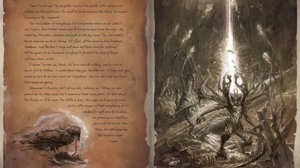 Diablo III: Reaper of Souls' 148-page heaven-sent companion book descends