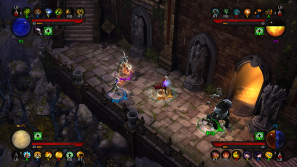 Diablo 3 on console is slightly better than the PC version. Can we have the changes on our version please?