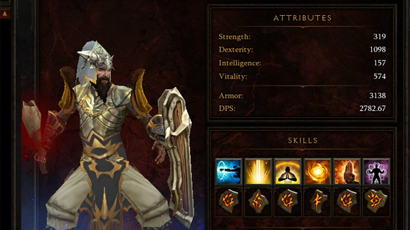 Diablo 3's browser based damage calculator will shame you into buying better bracers