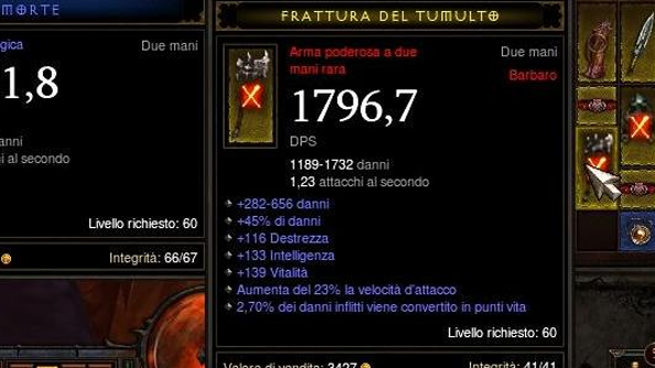 Italian player finds the best weapon in Diablo 3