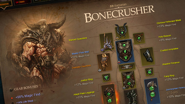 Online character profiles coming to Diablo 3
