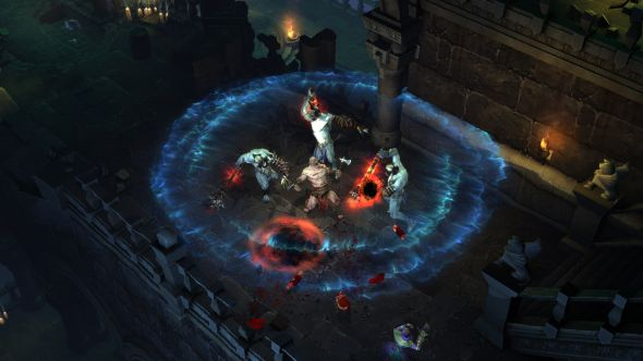 Diablo 3 in 2008 didn't look a whole lot different from release in 2012