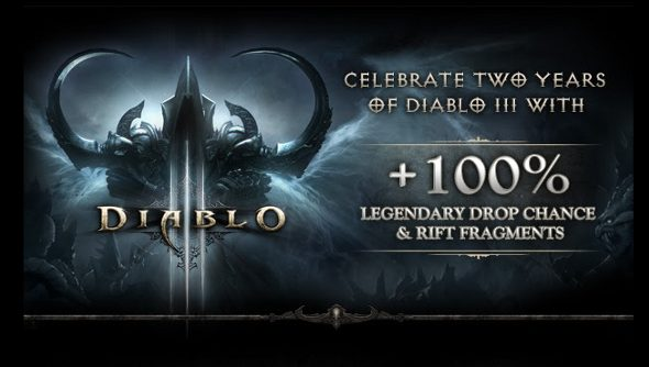 Diablo III anniversary