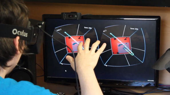 Diplopia is an Oculus Rift game that hopes to cure lazy eye and restore depth perception