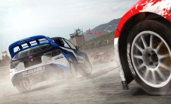 DiRT Rally adds rallycross multiplayer mode