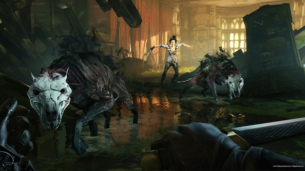 Dishonored's Brigmore Witches DLC teased with in-game adverts and doomy diary