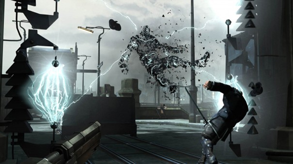 The Dishonored demonstration: Arkane sneak and slash through demo level, hint at supernatural enemies