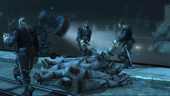 Dishonored launch trailer shows, well, blood, murder, and special powers. Still exciting though