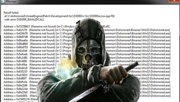 dishonored-crash-issues
