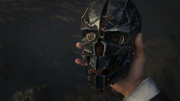 Corvo's famous mask