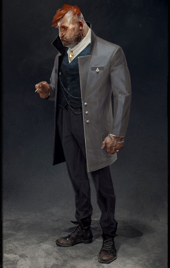 Noveau-riche Aramis Stilton, whom Arkane is betting you can tell was not born to the aristocracy, despite his nice clothes