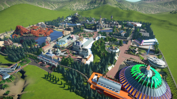 Disneyland paris planet coaster