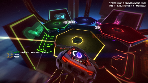 Survival racer Distance coming to Early Access this fall