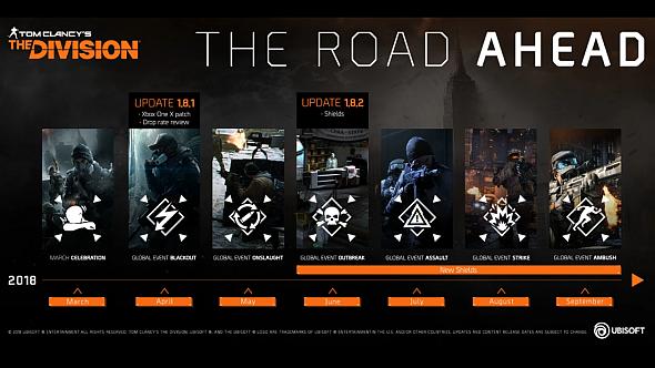 Division 1 roadmap