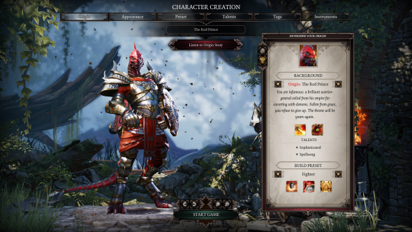 Divinity: Original Sin 2 Red Prince
