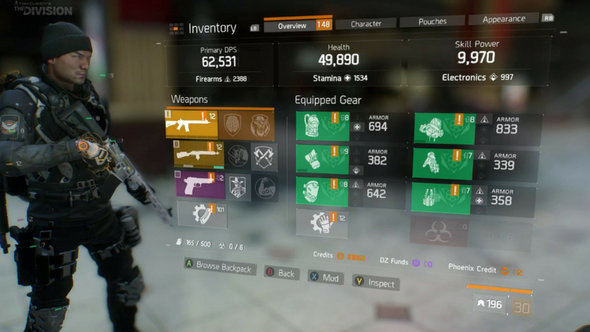 The Division is about to give you access to much bigger buffs
