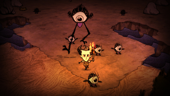 Don't Starve Together announced: it's easier to not starve when you can eat a chum