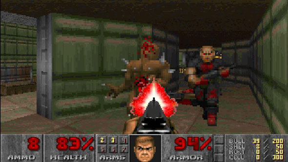 This deep-learning AI is better at Doom than you are