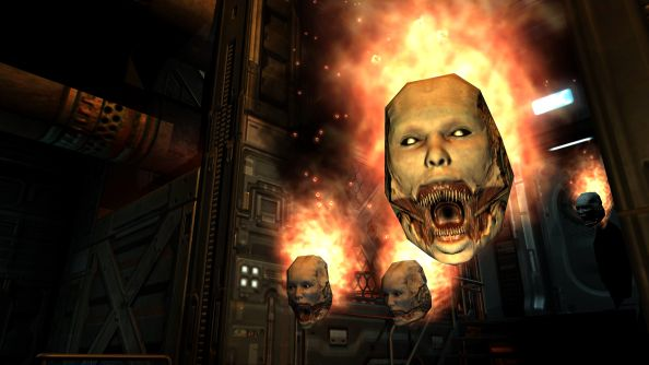 Doom 3 BFG Edition won't include multiplayer for original Doom and Doom 2 on PC