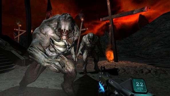 Doom 3: BFG Edition The Lost Mission reuses entire rooms from original game