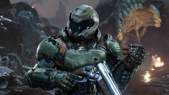 Doom's Free Update Five adds bots to multiplayer and strips out Denuvo