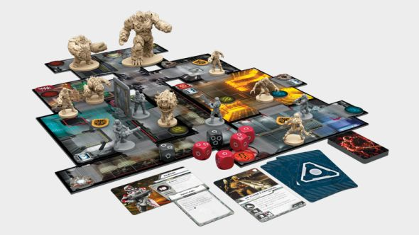 Doom's asymmetric, 2-5 player board game sounds like a hell of a time