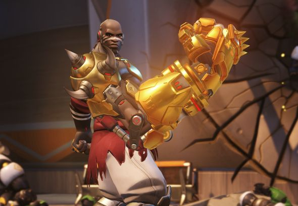 Doomfist golden weapon