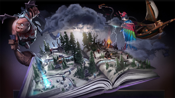 Jungling in the moonlight: Dota 2 gets weather and live rewind in post-Compendium update