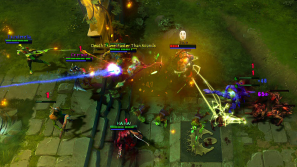 Dota 2 2014 International doubled last year's peak online viewer numbers