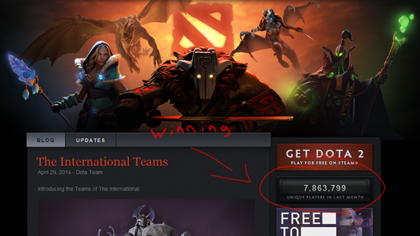 Dota 2 World of Warcraft Valve