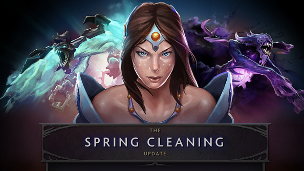 Dota 2 brushes itself down with the Spring Cleaning update