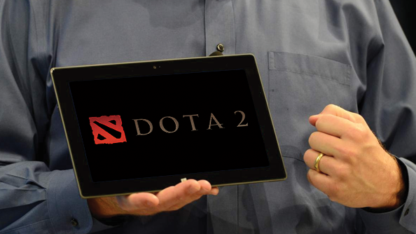 Valve tested Dota 2 on tablets. It didn't work. That might change