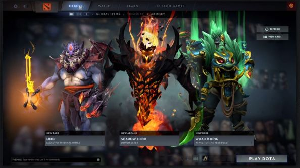 Dota 2's Reborn client lets team coaches see enemy's movement