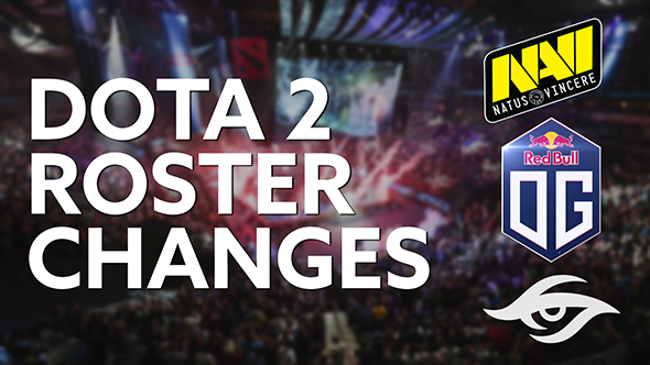 Dota 2 roster changes