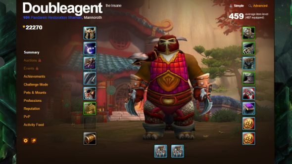 Doubleagent, the WoW player who reached level 100 without picking a